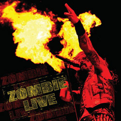 "Rob Zombie - ""Zombie Live"" CD cover image"
