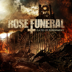 "Rose Funeral - ""Gates Of Punishment"" CD cover image - Click to read review"