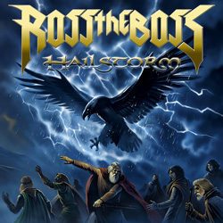 "Ross The Boss - ""Hailstorm"" CD cover image"