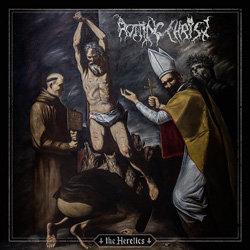 "Rotting Christ - ""The Heretics"" CD cover image"