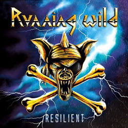"Running Wild - ""Resilient"" CD cover image"