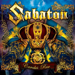 "Sabaton - ""Carolus Rex (English Version)"" CD cover image"