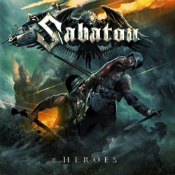 "Sabaton - ""Heroes"" CD cover image - Click to read review"
