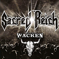 "Sacred Reich - ""Live at Wacken"" DVD cover image"