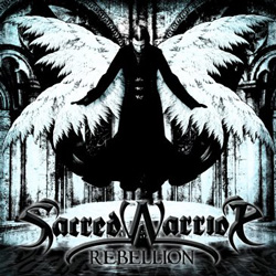 "Sacred Warrior - ""Rebellion"" CD cover image - Click to read review"