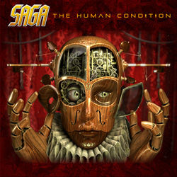 "Saga - ""The Human Condition"" CD cover image - Click to read review"