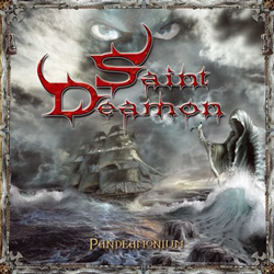 "Saint Deamon - ""Pandeamonium"" CD cover image"
