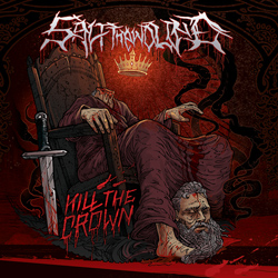 "Salt The Wound - ""Kill The Crown"" CD cover image"