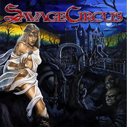 "Savage Circus - ""Dreamland Manor"" CD cover image"