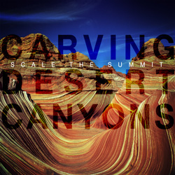 "Scale The Summit - ""Carving Desert Canyons"" CD cover image"