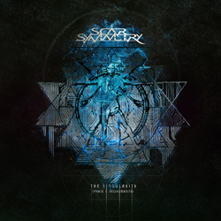 "Scar Symmetry - ""The Singularity (Phase I - Neohumanity)"" CD cover image"