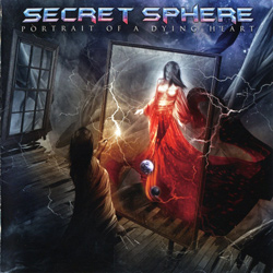 "Secret Sphere - ""Portrait Of A Dying Heart"" CD cover image"