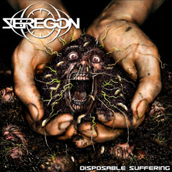 "Seregon - ""Disposable Suffering"" CD cover image"