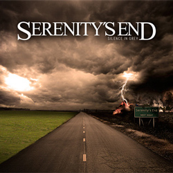 "Serenity's End - ""Silence In Grey"" CD/EP cover image - Click to read review"