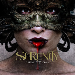 "Serenity - ""War Of Ages"" CD cover image - Click to read review"