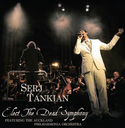 "Serj Tankian - ""Elect the Dead Symphony"" CD cover image - Click to read review"