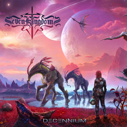 "Seven Kingdoms - ""Decennium"" CD cover image - Click to read review"