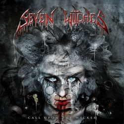 "Seven Witches - ""Call Upon The Wicked"" CD cover image"