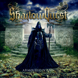 "ShadowQuest - ""Armoured IV Pain"" CD cover image"