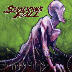 "Shadows Fall - ""Threads of Life"" CD cover image - Click to read review"