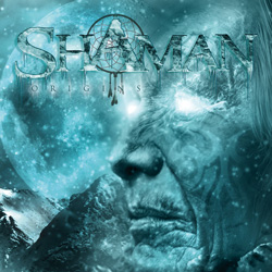 "Shaman - ""Origins"" CD cover image - Click to read review"