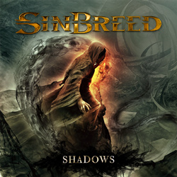 "Sinbreed - ""Shadows"" CD cover image - Click to read review"