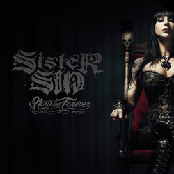 "Sister Sin - ""Now & Forever"" CD cover image"
