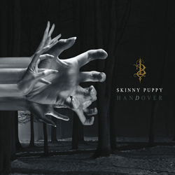 "Skinny Puppy - ""hanDover"" CD cover image - Click to read review"