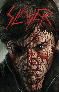"Slayer - ""Repentless Comic Issue #1"" Book cover image - Click to read review"