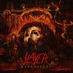 "Slayer - ""Repentless"" CD cover image"