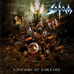 "Sodom - ""Epitome Of Torture"" CD cover image"