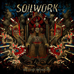 "Soilwork - ""The Panic Broadcast"" CD cover image - Click to read review"