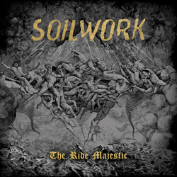 "Soilwork - ""The Ride Majestic"" CD cover image - Click to read review"