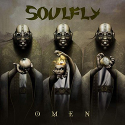 "Soulfly - ""Omen"" CD cover image - Click to read review"