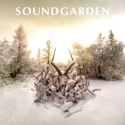 "Soundgarden - ""King Animal"" CD cover image - Click to read review"