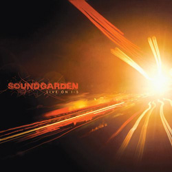 "Soundgarden - ""Live On I5"" CD cover image"