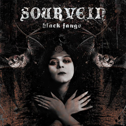"Sourvein - ""Black Fangs"" CD cover image"