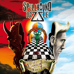 "Spellbound Dazzle - ""Unreal Fairy Tales"" CD cover image"