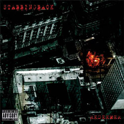 "Stabbingback - ""Redeemer"" CD cover image - Click to read review"
