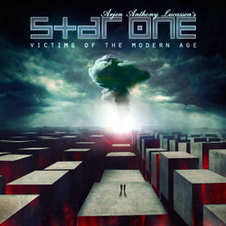 "Star One - ""Victims of the Modern Age"" CD cover image - Click to read review"