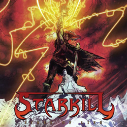 "Starkill - ""Fires of Life"" CD cover image"