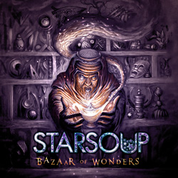 "Starsoup - ""Bazaar of Wonders"" CD cover image"