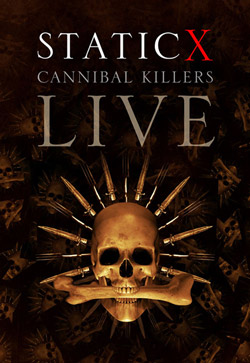 "Static-X - ""Cannibal Killers Live"" DVD cover image - Click to read review"