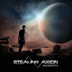 "Stealing Axion - ""Moments"" CD cover image - Click to read review"