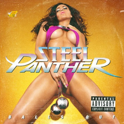 "Steel Panther - ""Balls Out"" CD cover image"