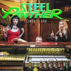 "Steel Panther - ""Lower The Bar"" CD cover image"