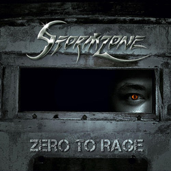 "Stormzone - ""Zero To Rage"" CD cover image"