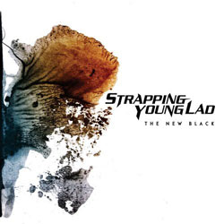 "Strapping Young Lad - ""The New Black"" CD cover image"