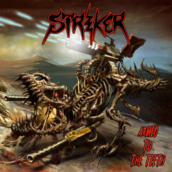 "Striker - ""Armed To The Teeth"" CD cover image"