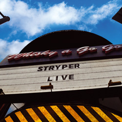 "Stryper - ""Live At The Whiskey"" 2-CD Set cover image"